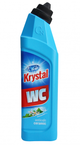 Krystal ŻEL do WC niebieski ceramic 750ml