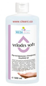 Medisept VELODES Soft  500 ml - Płyn do dezynfekcii rąk
