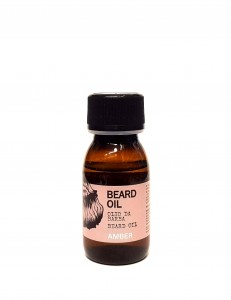 Dear Beard Oil 50ml AMBER olejek do brody ŻYWICA