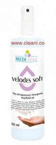 VELODES Soft  250 ml - Płyn do dezynfekcii rąk